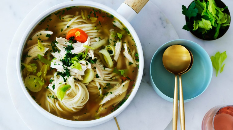 Seven new ways to soup-up your go-to chicken soup recipe